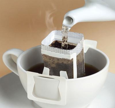 расфасованный кофе под фильтр для приготовления в чашку